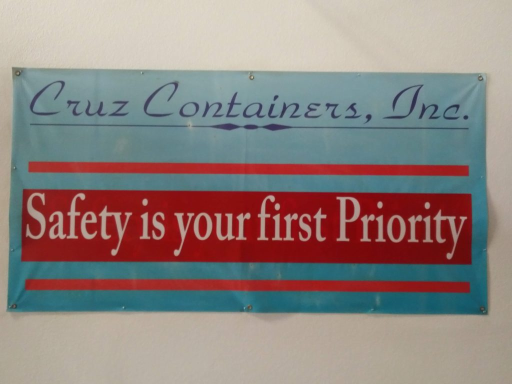 Safety Our First Priority